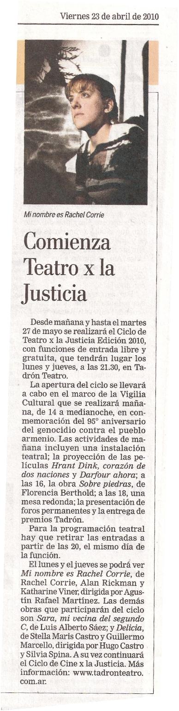 la nacionsobre piedras en teatro por la justicia1